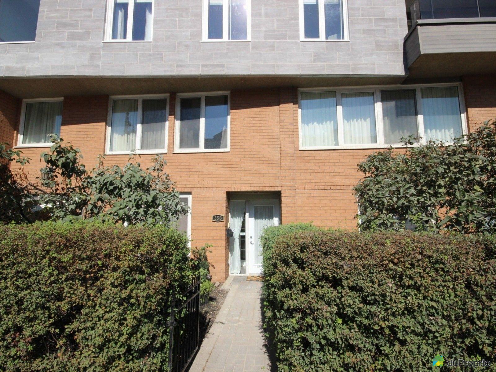Maison vendu montr al immobilier qu bec duproprio 514957 for Acheter une maison a montreal