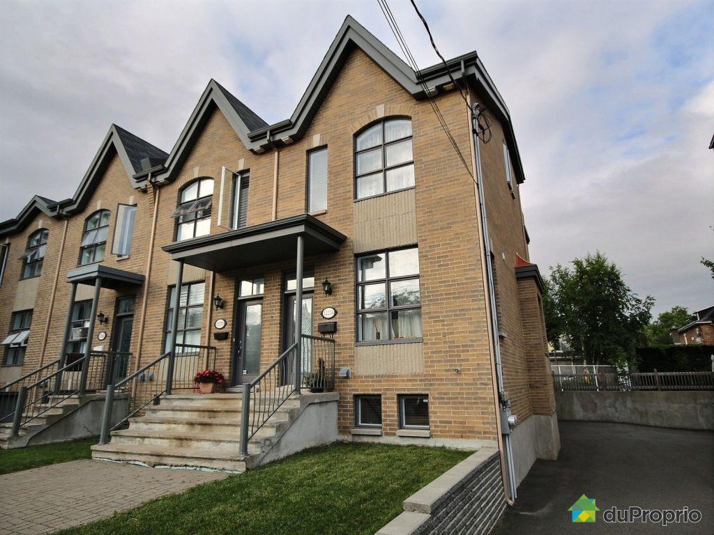 Maison vendu montr al immobilier qu bec duproprio 517614 for Acheter maison montreal