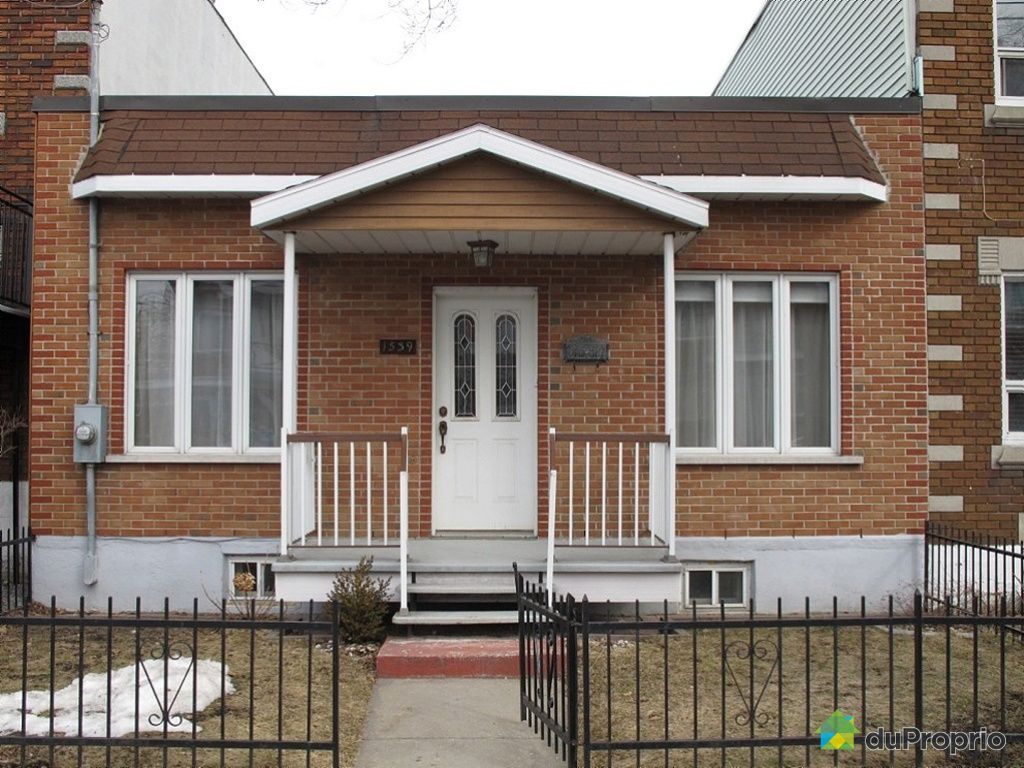 Maison vendu montr al immobilier qu bec duproprio 244544 for Acheter maison montreal
