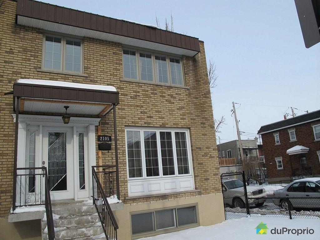 Maison vendu montr al immobilier qu bec duproprio 304990 for Acheter maison montreal canada