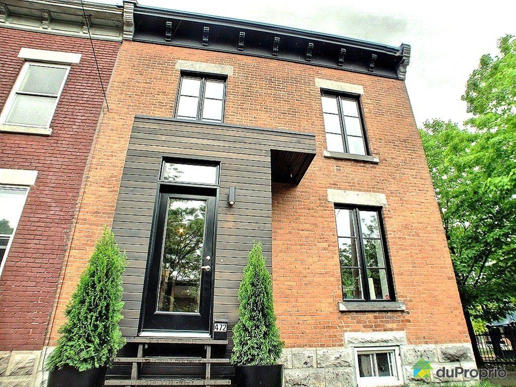Maison vendu montr al immobilier qu bec duproprio 429622 for Acheter une maison a montreal