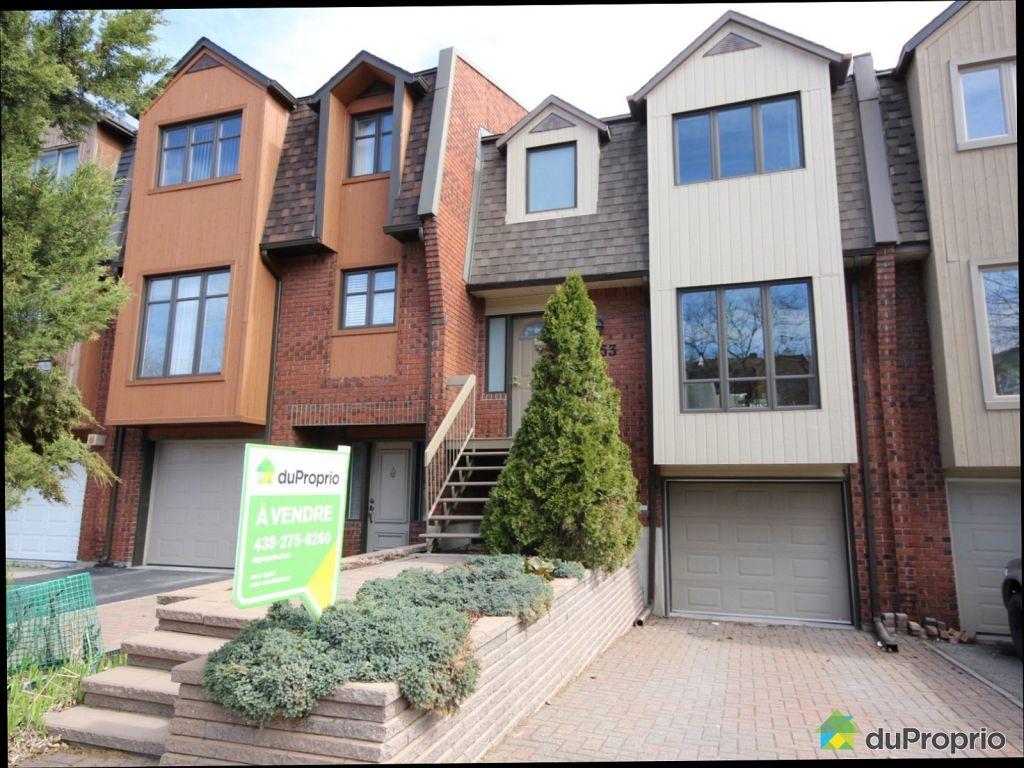 maison vendu montr 233 al immobilier qu 233 bec duproprio 604614
