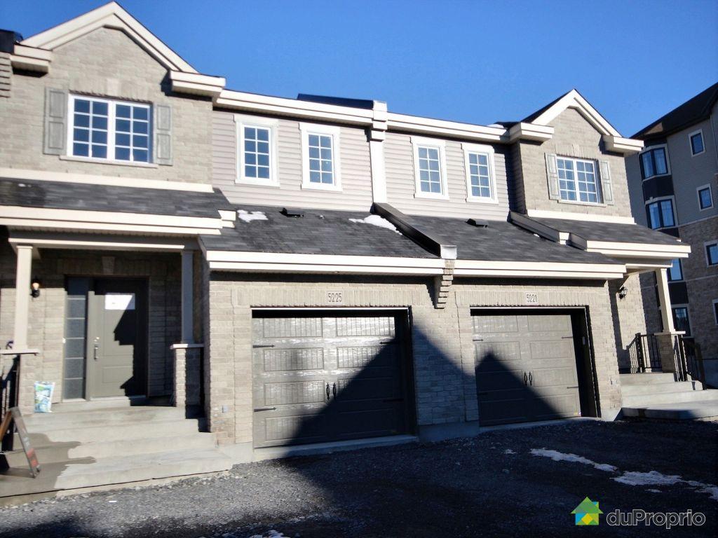 Maison neuve vendre montr al 5273 rue du sureau for Achat maison neuve ville de quebec