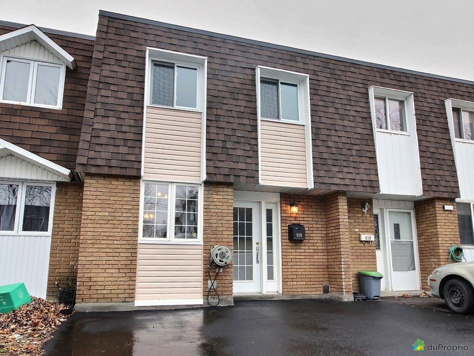 Maison vendu montr al immobilier qu bec duproprio 664867 for Acheter maison montreal canada