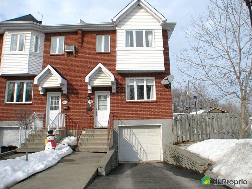 Maison vendu montr al immobilier qu bec duproprio 238403 for Acheter une maison a montreal