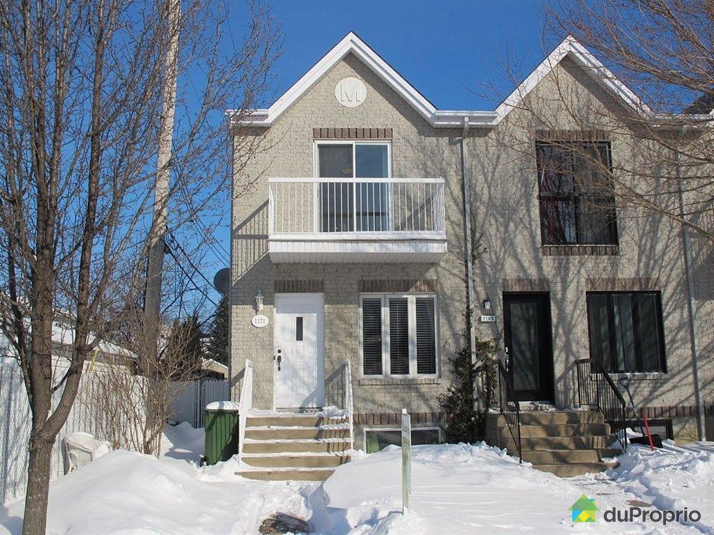 Maison vendu montr al immobilier qu bec duproprio 396742 for Alarme maison montreal