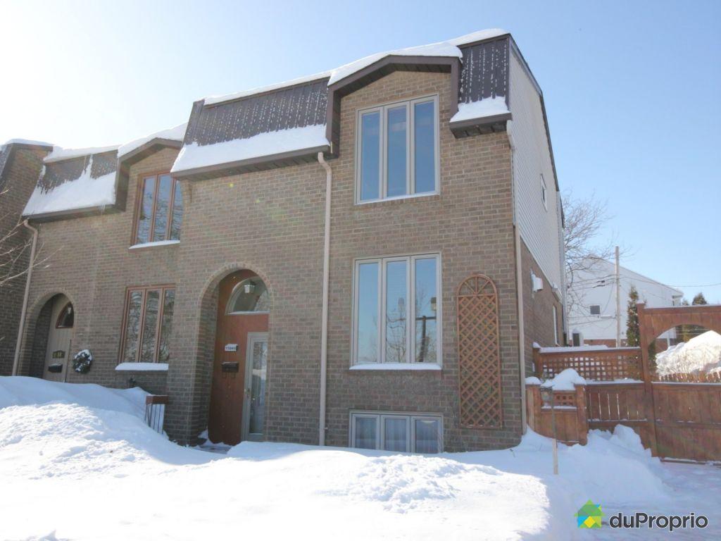 Maison vendu montr al immobilier qu bec duproprio 582023 for Acheter une maison a montreal