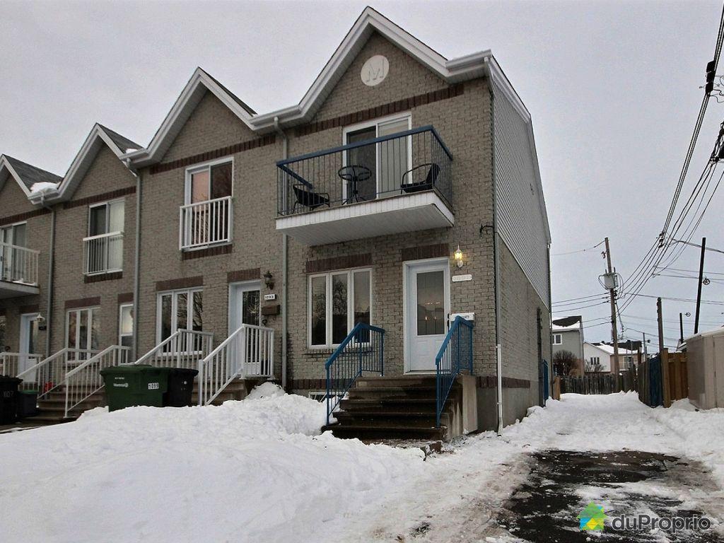 Maison vendu montr al immobilier qu bec duproprio 678789 for Achat maison montreal canada