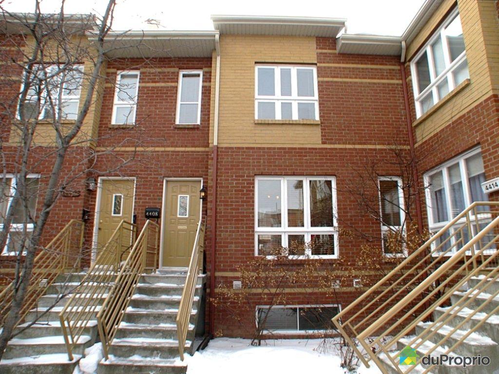 Maison vendu montr al immobilier qu bec duproprio 226917 for Alarme maison montreal