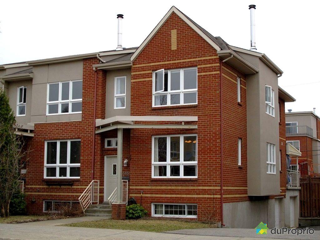 Maison vendu montr al immobilier qu bec duproprio 417117 for Acheter maison montreal quebec
