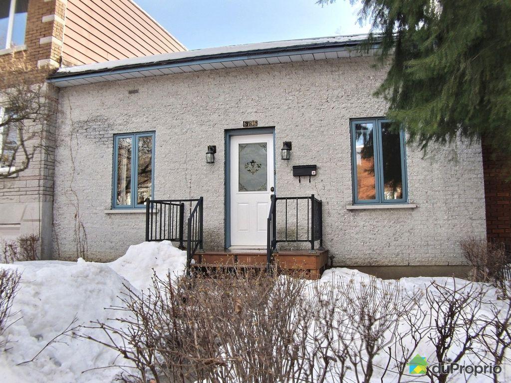 Maison vendu montr al immobilier qu bec duproprio 495659 for Achat maison montreal canada