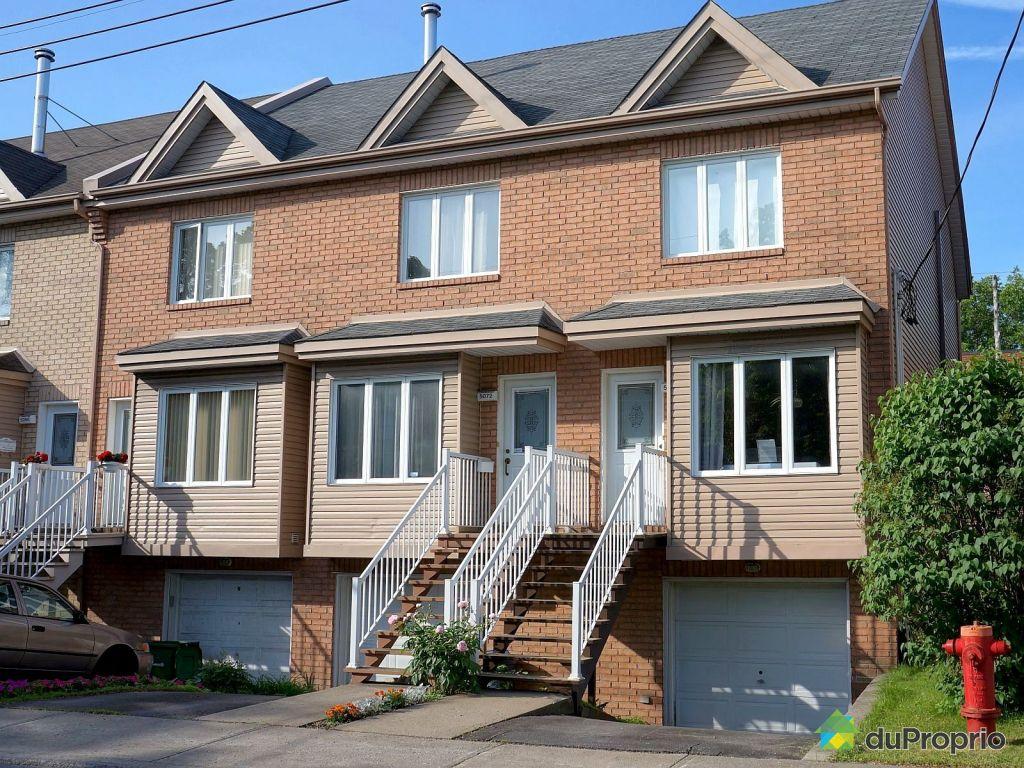 Maison vendu montr al immobilier qu bec duproprio 525529 for Achat maison montreal canada