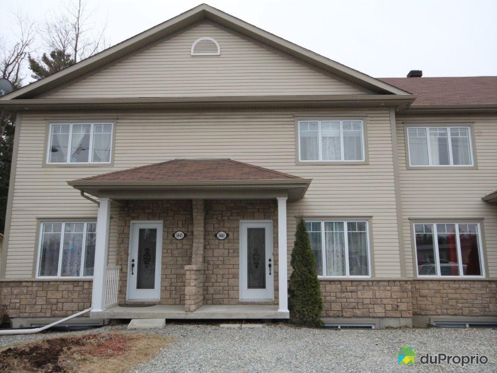 Maison vendre sherbrooke 3441 rue galt ouest immobilier qu bec dupropri - Combien coute une facade de maison ...