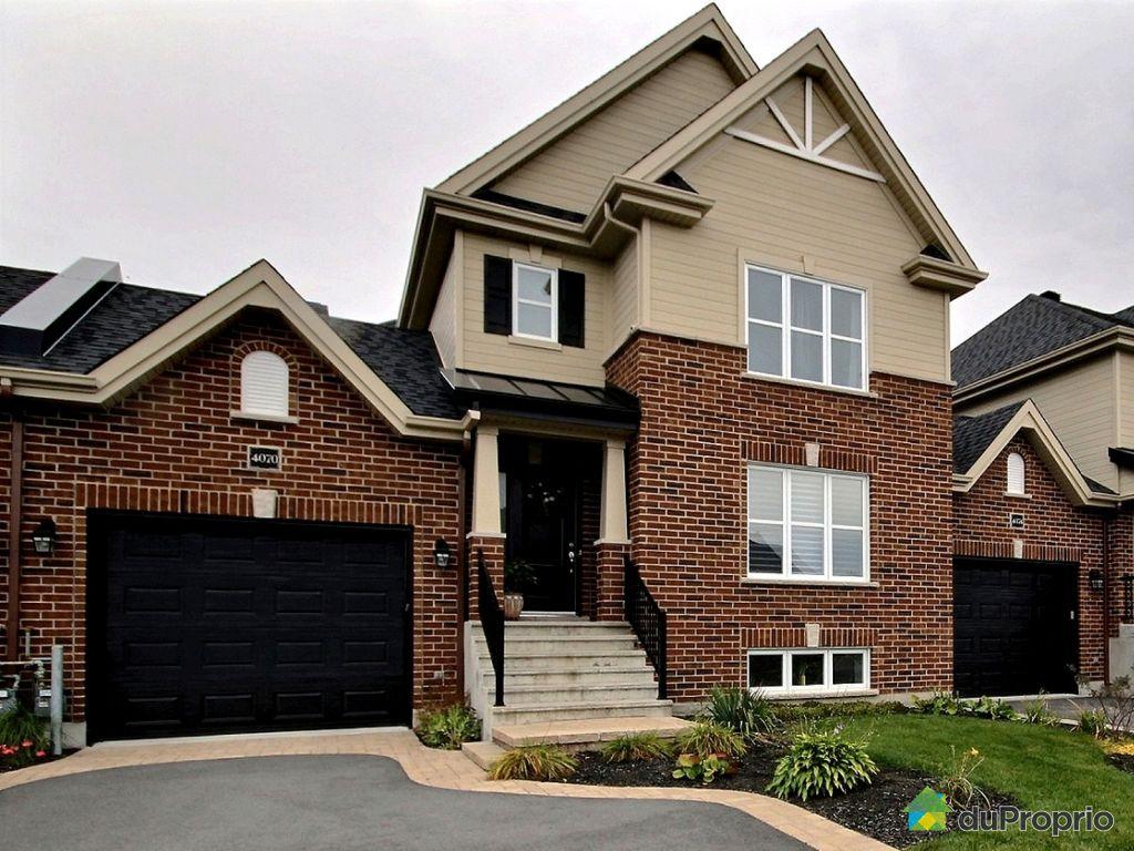 Maison vendu st bruno de montarville immobilier qu bec duproprio 555175 - Combien coute une facade de maison ...