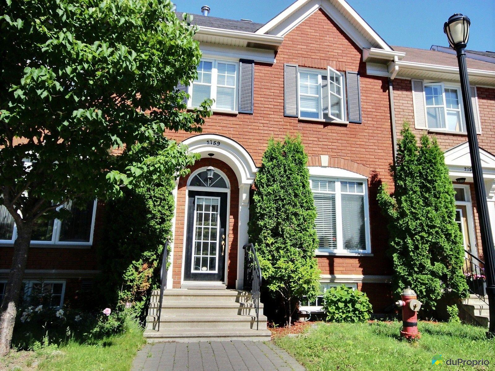 Maison vendu montr al immobilier qu bec duproprio 525914 for Acheter maison montreal canada