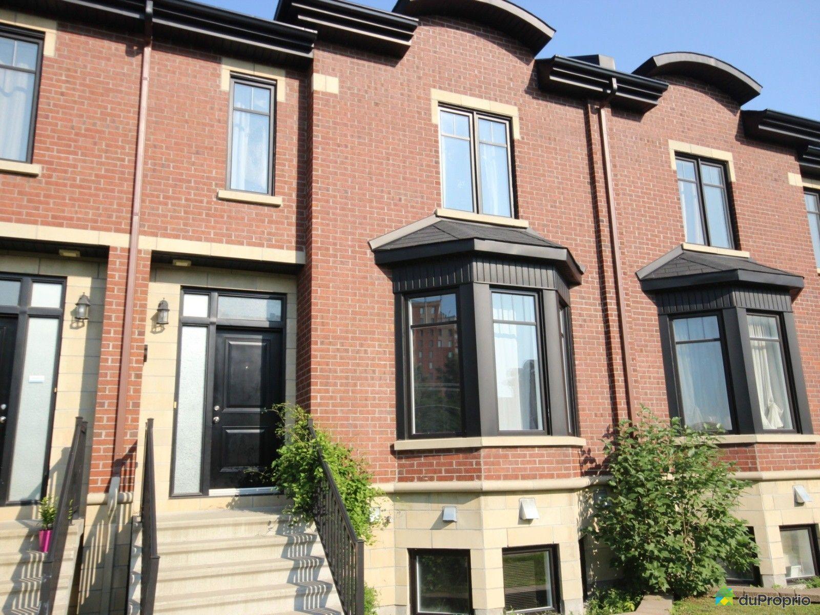 Maison vendu montr al immobilier qu bec duproprio 536135 - Piscine st laurent de chamousset ...