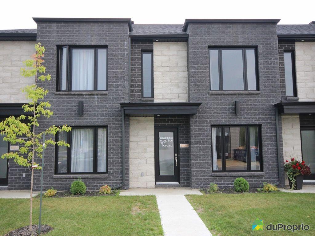 Maison neuve vendu trois rivi res immobilier qu bec for Achat maison neuve ville de quebec