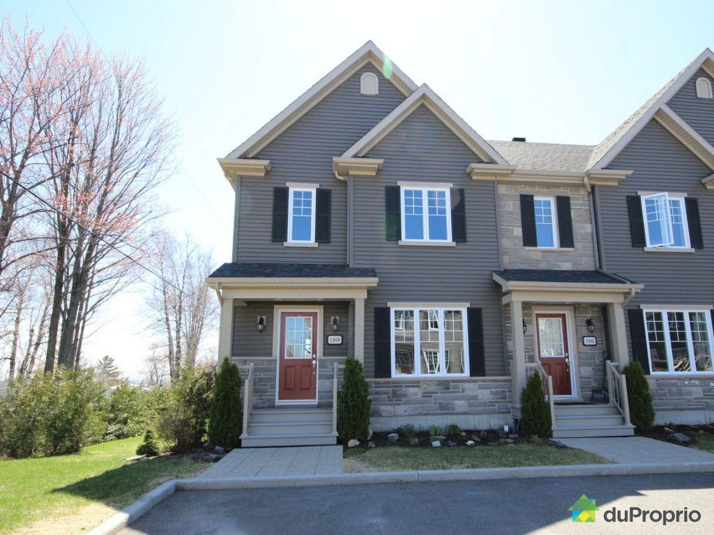 Maison vendu val b lair immobilier qu bec duproprio 519185 - Combien coute une facade de maison ...