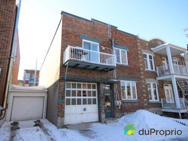Maison vendu montr al immobilier qu bec duproprio 485639 for Extension maison quebec
