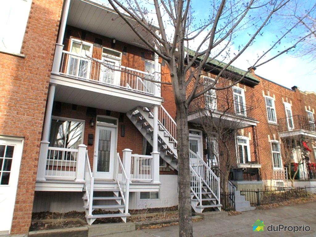 Maison vendu montr al immobilier qu bec duproprio 382175 for Acheter maison montreal canada