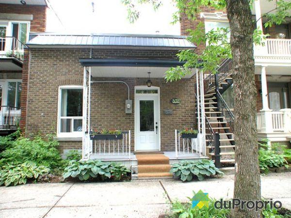 Maison vendu montr al immobilier qu bec duproprio 187934 for Extension maison quebec