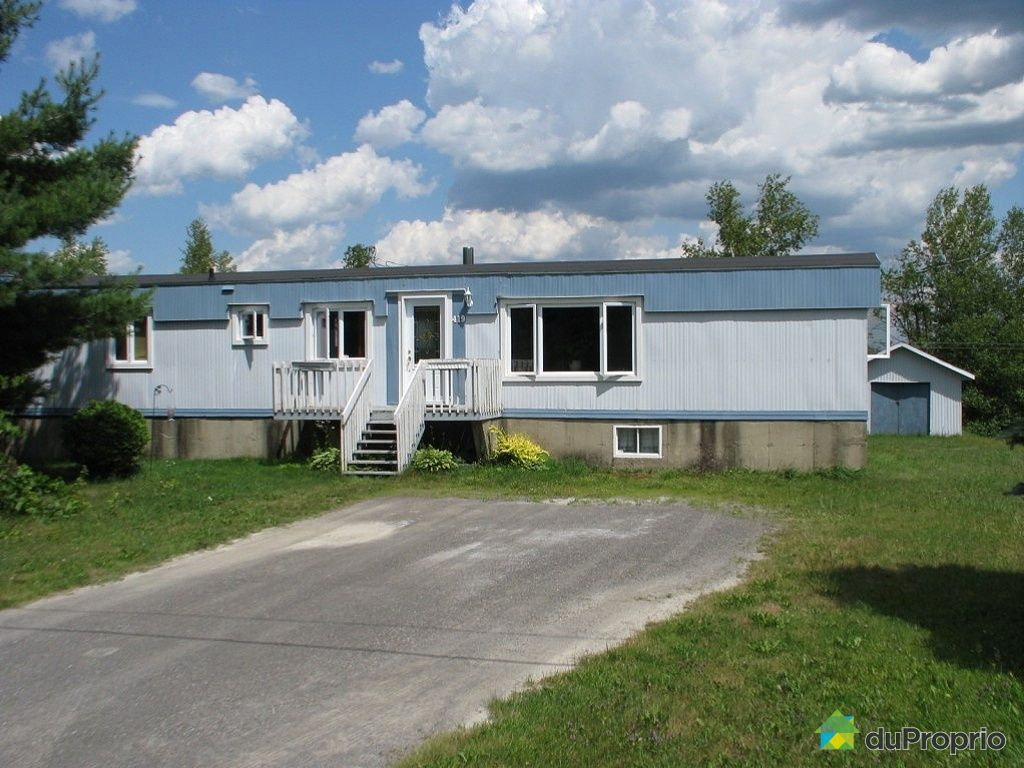 Maison vendu granby immobilier qu bec duproprio 343709 for Acheter une maison mobile