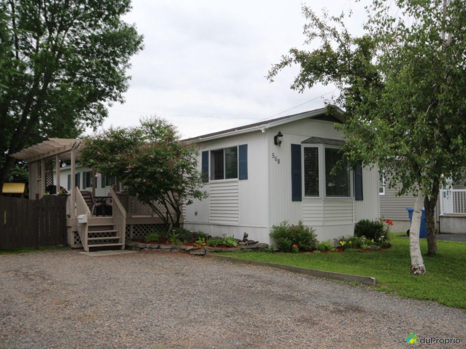 Maison vendu lac st charles immobilier qu bec duproprio for Acheter une maison mobile