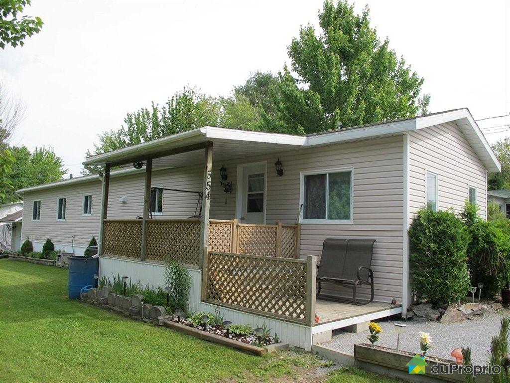 Maison vendu upton immobilier qu bec duproprio 424030 for Acheter une maison mobile