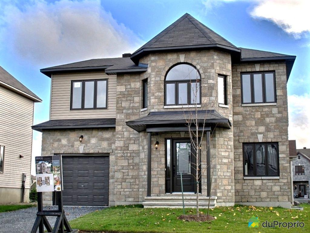Maison neuve vendu aylmer immobilier qu bec duproprio 579220 - Exemple de facade de maison ...