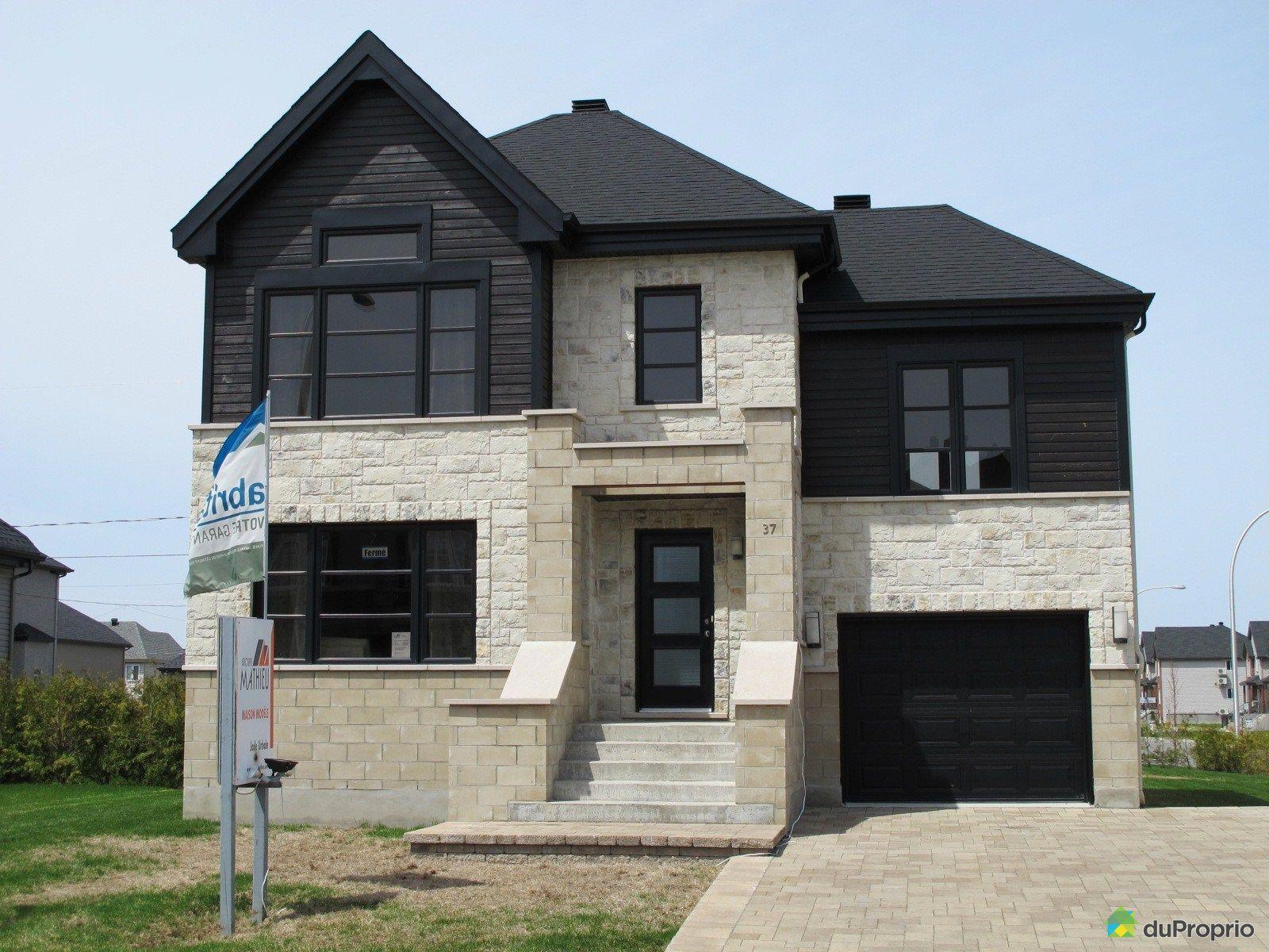 Maison neuve vendu blainville immobilier qu bec - Refection de facade maison ...