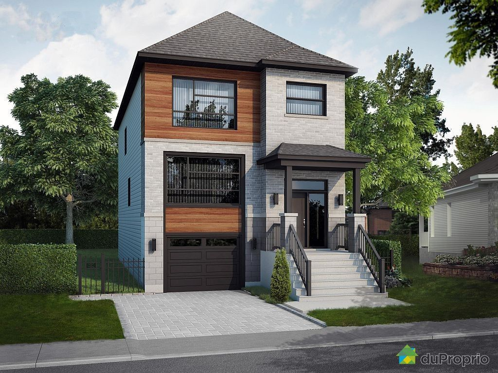 Modele facade maison moderne maison contemporaine for Maison neuve nancy
