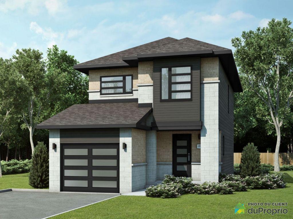 maison neuve vendre hull 18 rue du sirocco mod le aliz immobilier qu bec duproprio 715544. Black Bedroom Furniture Sets. Home Design Ideas