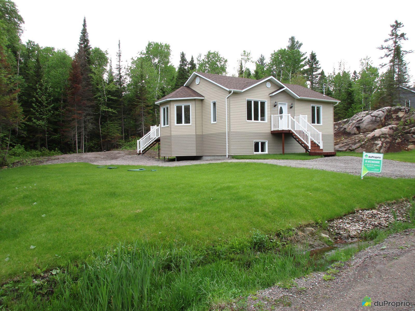 Maison neuve vendu lac k nogami immobilier qu bec for Promoteur maison neuve
