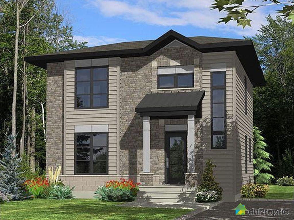 Maison neuve vendre l 39 ancienne lorette rue des pins ouest immobili - Maison neuve ou ancienne ...