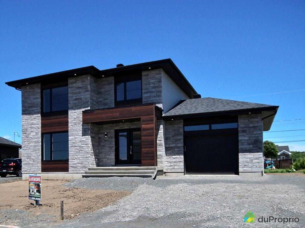 maison neuve vendu l vis immobilier qu bec duproprio 617226. Black Bedroom Furniture Sets. Home Design Ideas