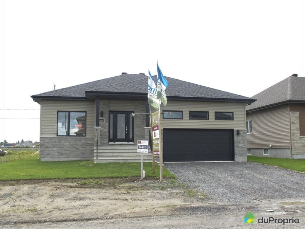 Maison neuve vendre mirabel 16480 rue calixa lavall e for Promoteur immobilier maison neuve