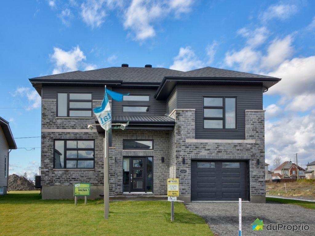 Maison neuve vendre mirabel mod le construire for Modele facade maison