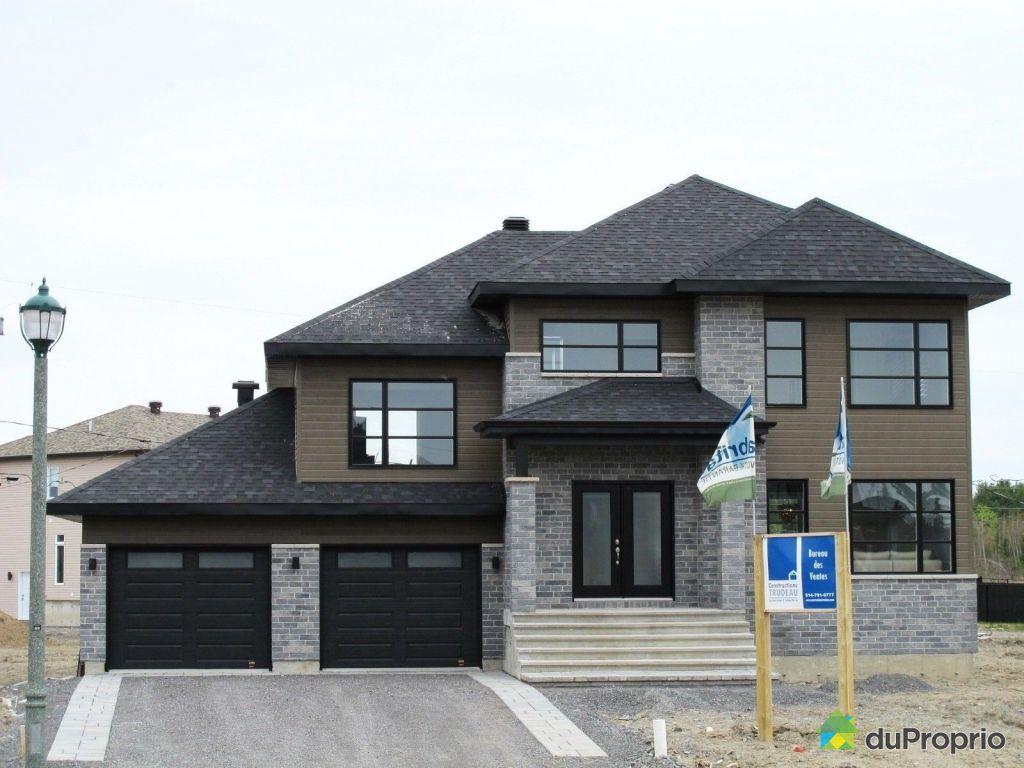 maison neuve vendre mirabel le quintessence 17665 rue du grand prix immobilier qu bec. Black Bedroom Furniture Sets. Home Design Ideas