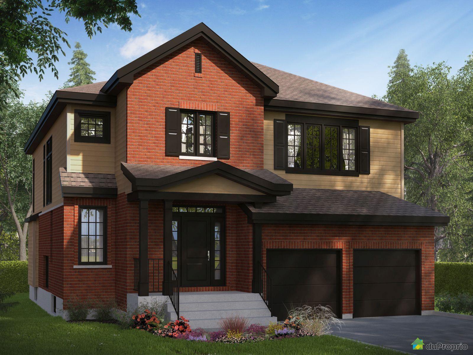 Maison neuve vendre montr al 152 avenue de dieppe for Maison claire prix