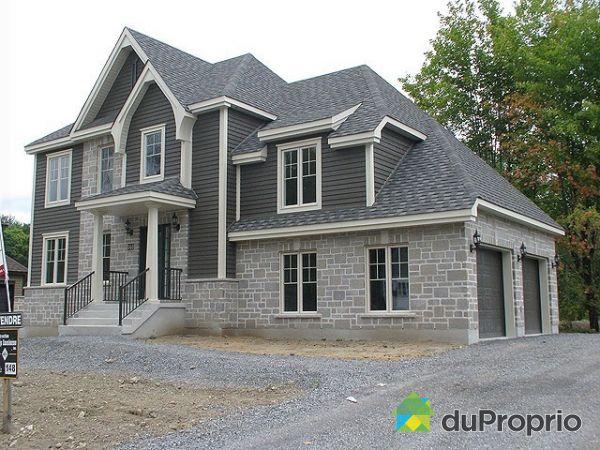 Pr vost vendre duproprio for Maison garage double