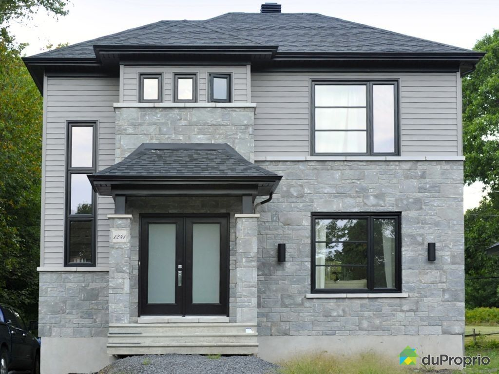 maison neuve vendre maison moderne. Black Bedroom Furniture Sets. Home Design Ideas