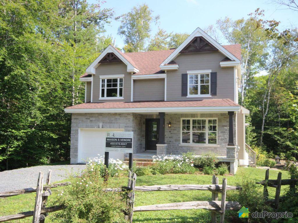 maison neuve vendre ste ad le 1718 rue du bourg du lac immobilier qu bec duproprio 641126. Black Bedroom Furniture Sets. Home Design Ideas