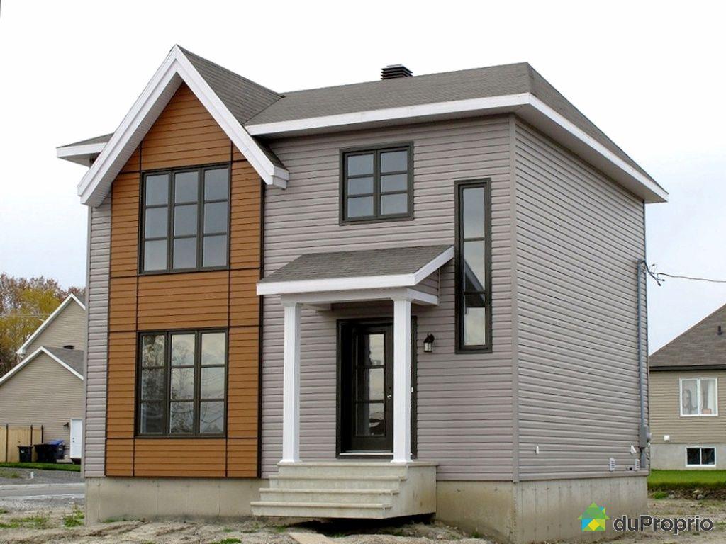 Maison neuve vendu ste catherine de la jc immobilier qu bec duproprio 29 - Facades maisons photos ...