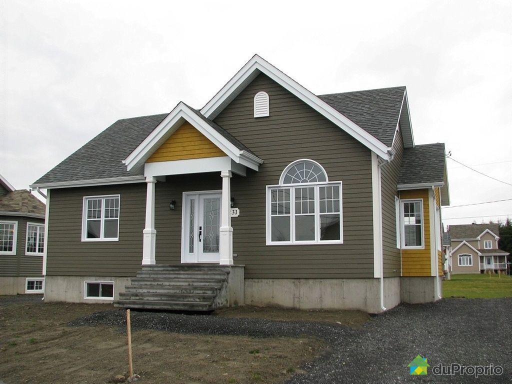 maison neuve vendu ste croix immobilier qu bec duproprio 339773. Black Bedroom Furniture Sets. Home Design Ideas