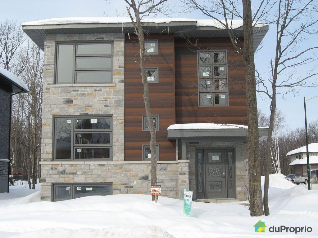 Maison neuve vendu ste foy immobilier qu bec duproprio 560457 - Comment trouver le proprietaire d une maison ...