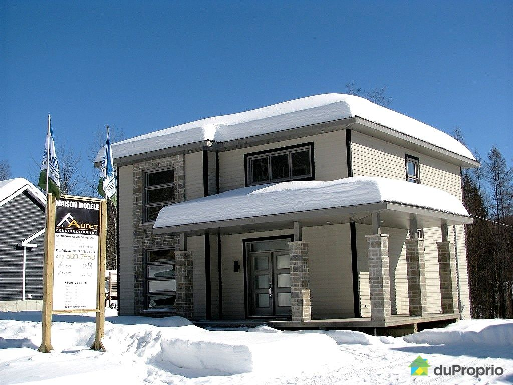 Maison neuve vendu stoneham immobilier qu bec duproprio for Apchq garantie maison neuve