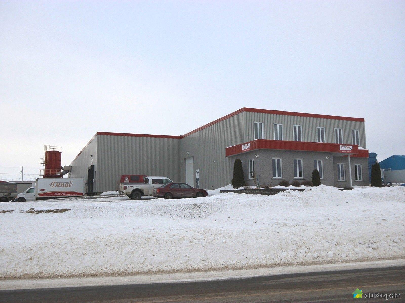 usine vendre princeville 1214 rue saint jacques ouest immobilier qu bec duproprio 684471. Black Bedroom Furniture Sets. Home Design Ideas