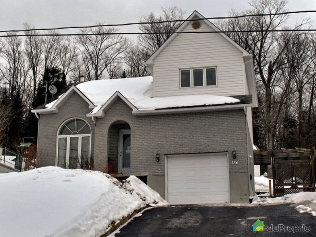 House for sale in Charlesbourg, 156, rue Bernier Est | DuProprio #