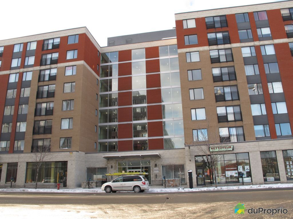 Condo for sale in montreal 614 1225 rue notre dame ouest for La downtown condo for sale