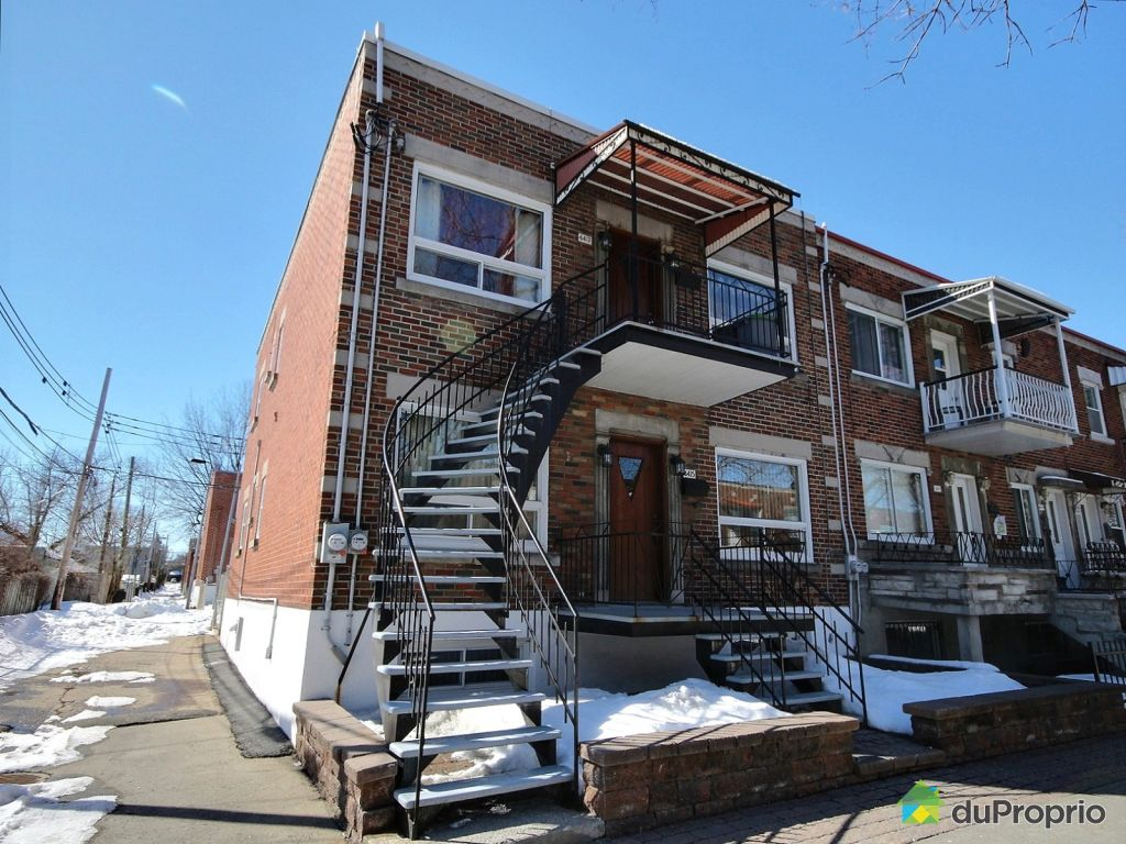 Duplex sold in Montreal DuProprio 592565 #186BB3